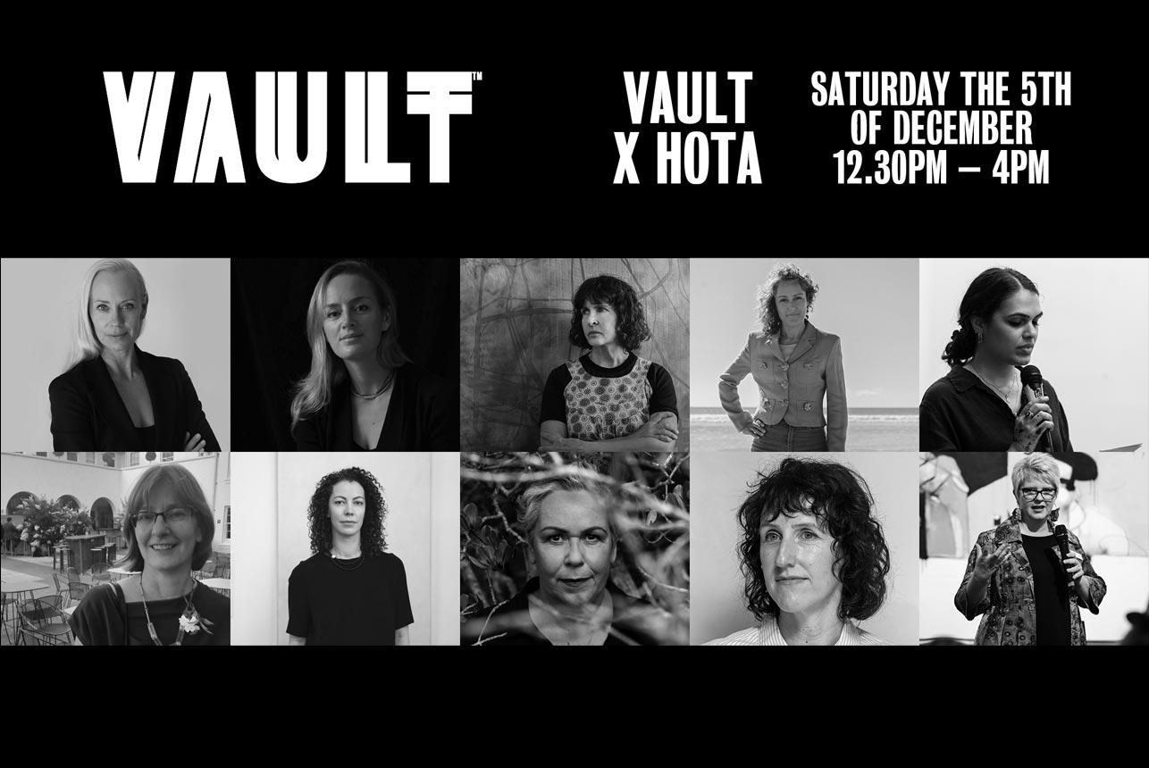 HOTA X VAULT Panel Discussion